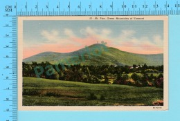 Green Mountain Vermont - Mt. Pico, Used - 2 Scans - Etats-Unis
