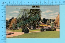 Salem N.H. - Canobie Lake Park, Cover Salem 1947 On A Pair 1 Cent Stamp  - 2 Scans - Salem