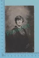 "Carte Photo - Yong Woman By Presby Photograph Richmond Quebec "" Bernadette Boisvert"" 1904-18- 2 Scans - Photographie"