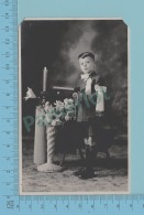 Carte Photo - Fils De Simonne Et Conrad Langlais, Granby Quebec, Azo 1926-40- 2 Scans - Photographie