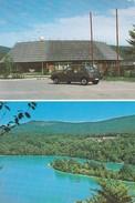 CROATIE----RARE----PLITVICKA JEZERA---(voiture Peugeot 205 )---voir 2 Scans - Croatie