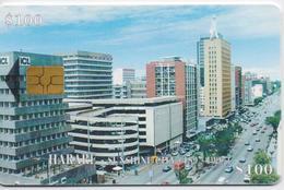ZIMBABWE  PHONECARD (CHIP) HARARE  -ZIM 28-USED(bx1) - Zimbabwe