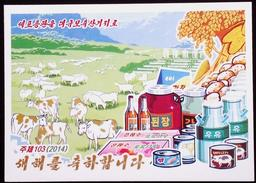 NORTH KOREA POSTCARD - Korea (Nord)