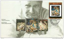 1998  Canadian Art Painting By B J Bobak  Sc 1754 - 1991-2000