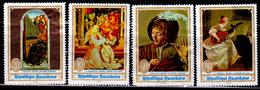 Rwanda, 1969 Scott 281-284, Paintings And Music, Master Works, Used - Rwanda