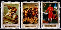 Rwanda, 1969 Scott 318, 320, 321, Paintings Of Napoleon Bonaparte, Used - Rwanda