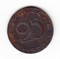 ALLEMAGNE, AACHEN, JETON, 1920,25 P. (B340) - Monétaires/De Nécessité