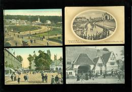 Grand Lot De 150 Cartes Postales De L' Exposition De Bruxelles Groot Lot Van 150 Postkaarten Van Tentoonstelling Brussel