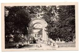 Cpa Sucy En Brie 94 - Porte Du Château - Sucy En Brie