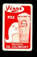 Speelkaart ( 0102 ) 1 Losse Kaart - Publicité  Reclame Bier Bière Brasserie Brouwerij - VENUS  Jolimont - Barajas De Naipe
