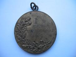 Championship Medal YUGOSLAVIA-wrestling.PRVENSTVO JUGOSLAVIJE-MEDALJA-1938 - Other
