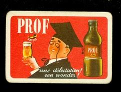 Speelkaart ( 0110 ) 1 Losse Kaart - Publicité  Reclame Bier Bière Brasserie Brouwerij - PROF Artois - Barajas De Naipe