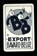 Speelkaart ( 0111 ) 1 Losse Kaart - Publicité  Reclame Bier Bière Brasserie Brouwerij -  BAVARO - BELGE - Barajas De Naipe