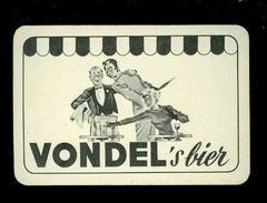 Speelkaart ( 0114 ) 1 Losse Kaart - Publicité  Reclame Bier Bière Brasserie Brouwerij -  VONDEL  Meulebeke - Cartes à Jouer Classiques