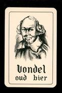 Speelkaart ( 0115 ) 1 Losse Kaart - Publicité  Reclame Bier Bière Brasserie Brouwerij -  VONDEL  Meulebeke - Barajas De Naipe