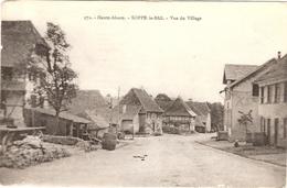CPA Soppe Le Bas Vue Du Village 68 Haut Rhin - Autres Communes