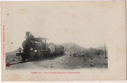 Djibouti A La Frontière Abyssine Au Kilomètre 60    Train - Djibouti