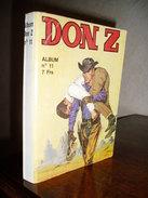 RELIURE DON Z N° 11 - Petit Format