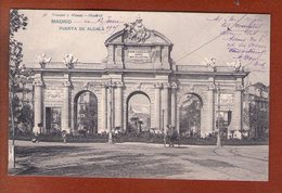 1 Cpa Madrid Puerta De Alcala - Madrid