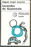 Miguel Angel Asturias : Leyendas De Guatemala (en Espagnol) 4e édition 1970 - Livres, BD, Revues