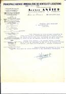 Ref 07/ 83, Hyères Les Palmiers, Agence Astier, Agence De Ventes Et De Locations, 1948, Pour Cherbourg 50, , 2 Courriers - France