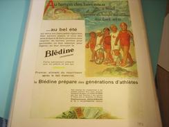 ANCIENNE PUBLICITE BLEDINE AU BEL ETE 1931 - Posters