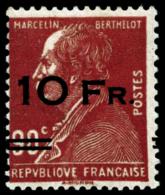 N°3 10F Sur 90c Rouge, Signé Calves, Certif Scheller - TB