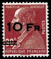 N°3 10F Sur 90c Rouge, Pièce De Luxe Signé Brun - TB