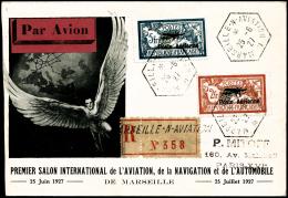N°1/2 Les 2 Val S/lettre Recom 25/6/27 - TB