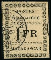 N°12 1F Noir S/jaune, Signé Calves - TB