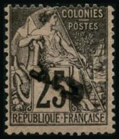 N°6 5 Sur 25 Noir S/rose - TB