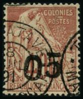 N°4 05 S/40c Rouge-orange - TB
