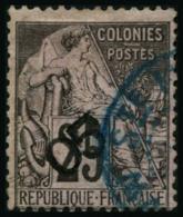 N°2 05 Sur 25c Noir S/rose - TB