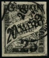 N°13 25 Sur 20c Noir - TB