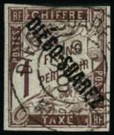 N°13 1F Marron, Signé Brun - B