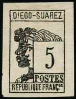 N°7 5c Gris-noir - TB