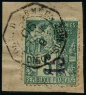 N°2 15 Sur 5c Vert - TB