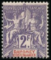 N°16 2F Violet S/rose - TB