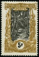 N°41a 5F Moutarde Et Noir - TB