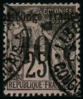N°5 10c Sur  25c Noir S/rose - TB