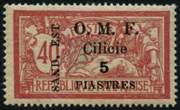 N°103a 5pr Sur 40c Rouge Et Bleu N De Sand Renversé - TB