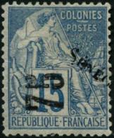 N°6 75 Sur 15c Bleu - TB