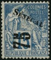 N°6 75 Sur 15c Bleu, Signé Brun - TB
