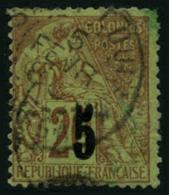 N°1 5 Sur 20c Brique/vert (I) - TB