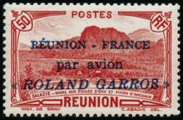 N°1 50c Rouge, Signé Brun - TB