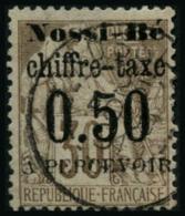 N°3 50c Sur 30c Brun - TB