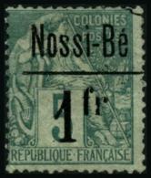 N°22 1F Sur 5c Vert - TB