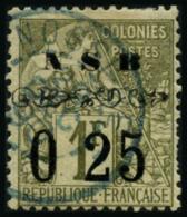 N°15 0,25 Sur 1F Olive - TB