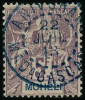 N°16 5F Violet S/gris - TB