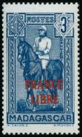 N°243 3c Bleu - TB